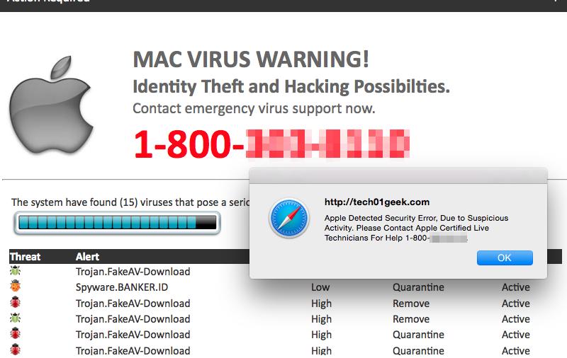 Mac Telephone Scams