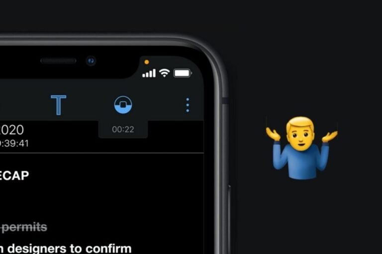 What Are Those Orange and Green Dots in Your iPhone's Status Bar?